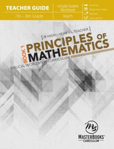 Principles of Mathematics Book 1 (Teacher Guide)