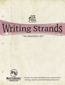 Writing Strands: Advanced 1 (Scratch & Dent)