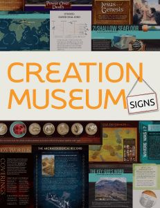 Creation Museum Signs