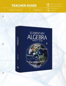 Elementary Algebra (Teacher Guide - Scratch & Dent)