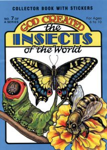 God Created the Insects of the World
