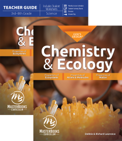 God's Design for Chemistry & Ecology Set (MB Edition)