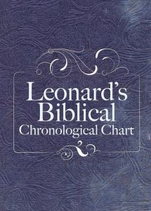 Leonard's Biblical Chronological Chart (Hardback)