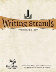 Writing Strands: Beginning 1 (Download)