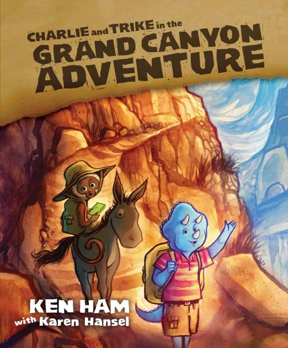 Charlie and Trike in the Grand Canyon Adventure (Download)