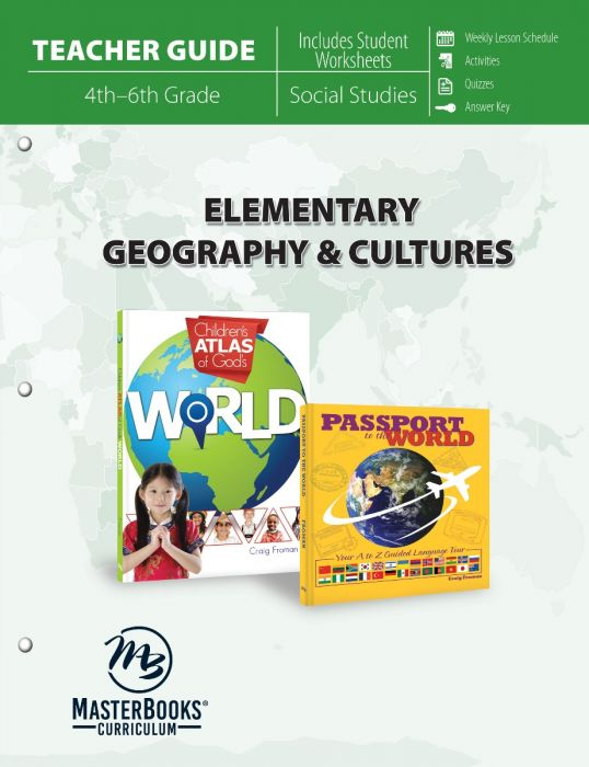 Elementary Geography & Cultures (Teacher Guide - Download)