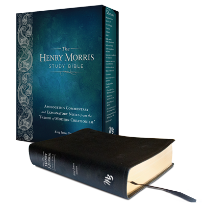 The Henry Morris Study Bible (Black Leatherbound)
