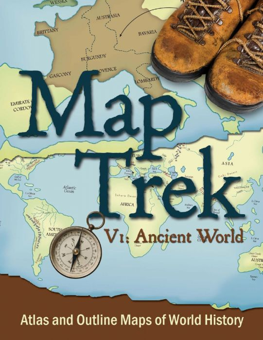 Map Trek: Ancient World (Download)