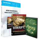 Intro to Economics : Money, History & Fiscal Faith (Curriculum Pack)