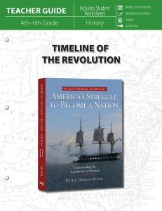 Timeline of the Revolution (Teacher Guide)