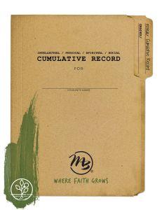 Cumulative Record