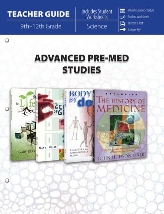 Advanced Pre-Med Studies (Teacher Guide - Download)