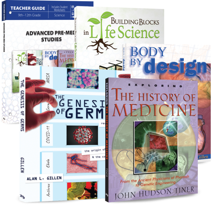 Advanced Pre-Med Studies (Curriculum Pack)