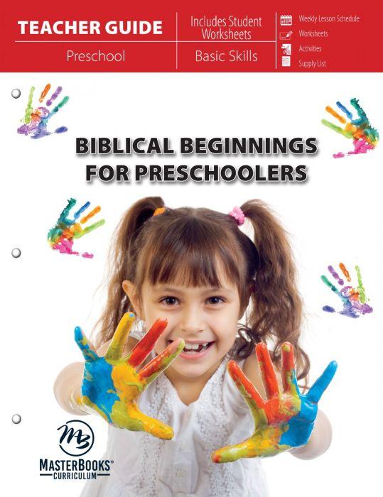 Biblical Beginnings for Preschoolers (Teacher Guide - Scratch & Dent)