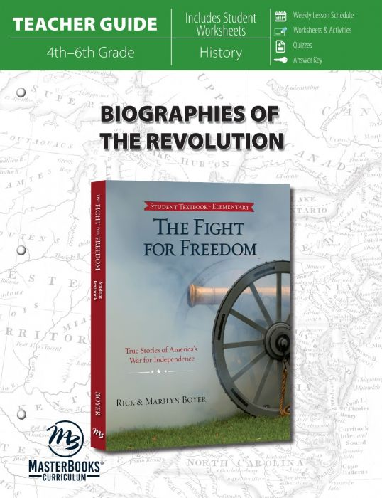 Biographies of the Revolution (Teacher Guide - Download)