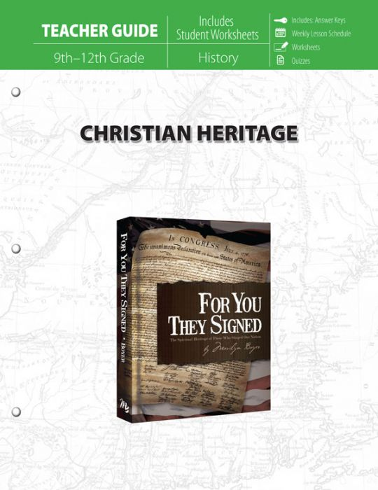 Christian Heritage (Teacher Guide)