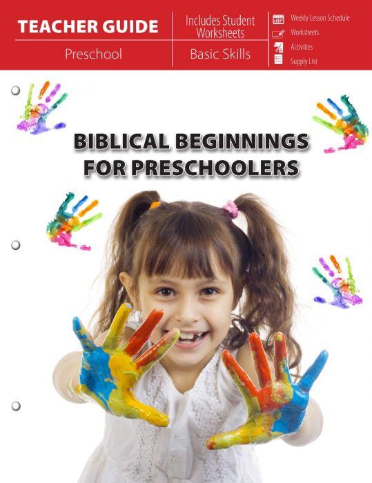 Biblical Beginnings for Preschoolers (Teacher Guide - Download)