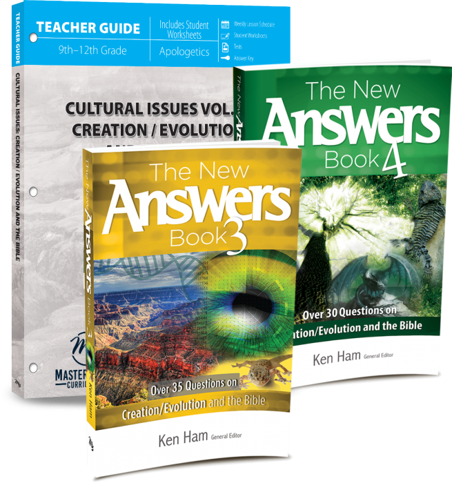 Cultural Issues Vol. 2: Creation & the Bible (Curriculum Pack)