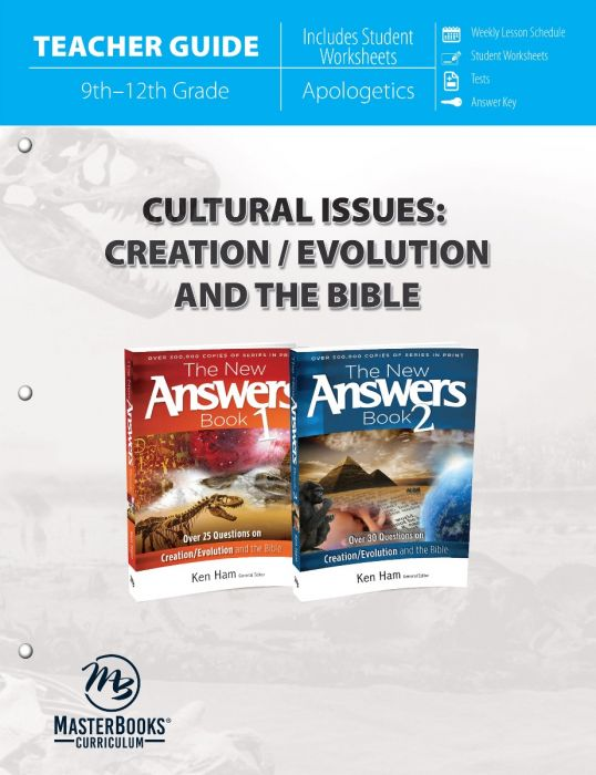 Cultural Issues Vol. 1: Creation/Evolution and the Bible (Teacher Guide)