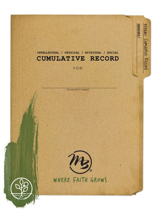 Cumulative Record (Download)