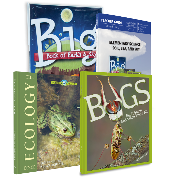 Elementary Science: Soil, Sea, & Sky (Curriculum Pack)