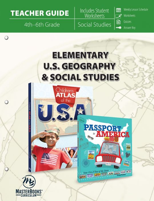 Elementary U.S. Geography & Social Studies (Teacher Guide)