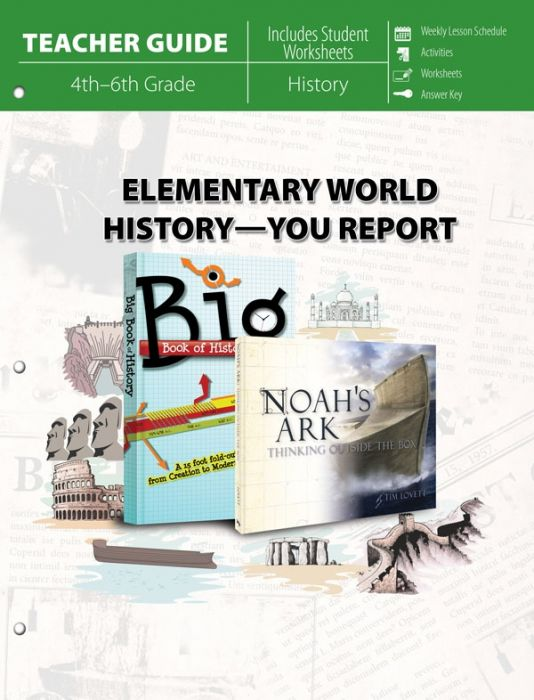 Elementary World History - You Report! (Teacher Guide - Download)