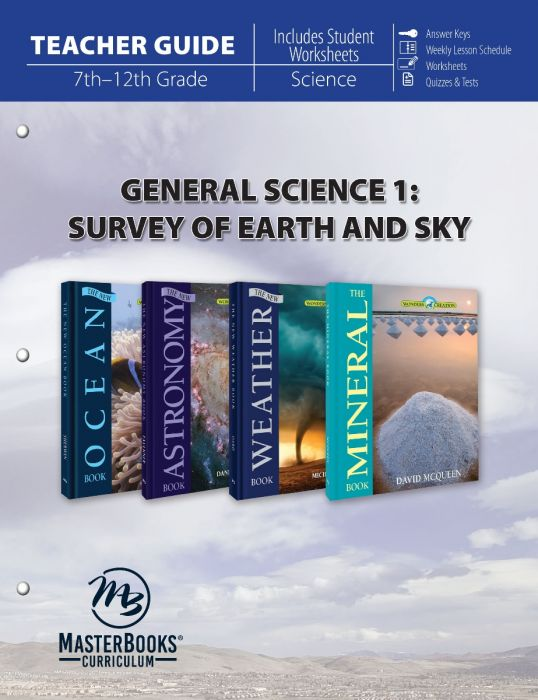 General Science 1: Survey of Earth & Sky (Teacher Guide - Download)