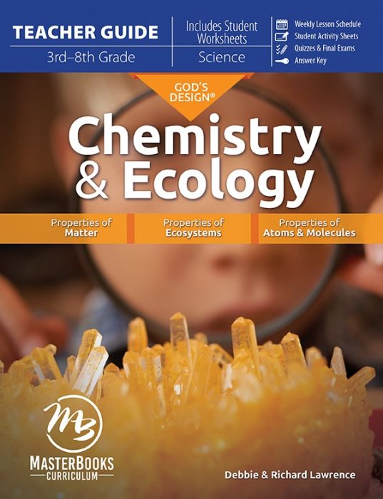 God's Design for Chemistry & Ecology (Teacher Guide - MB Edition - Download)