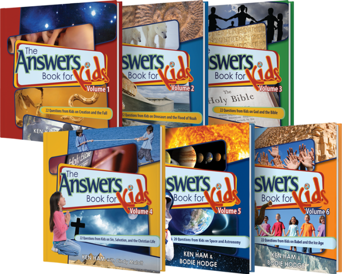 Answers for Kids Book Set
