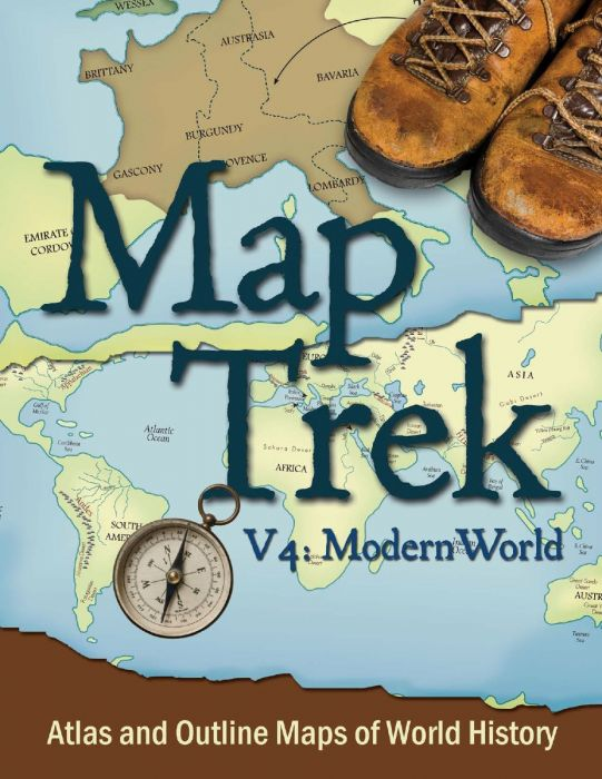 Map Trek: Modern World (Download)