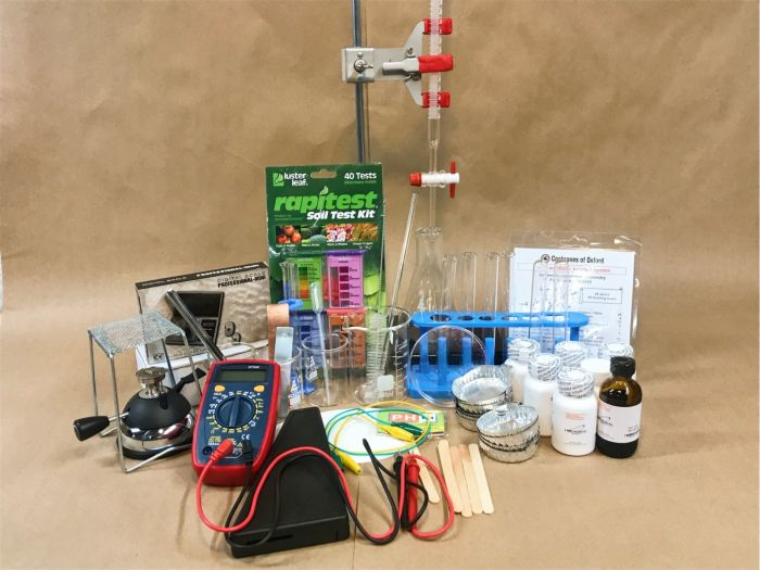 Master Books Chemistry Supply Kit