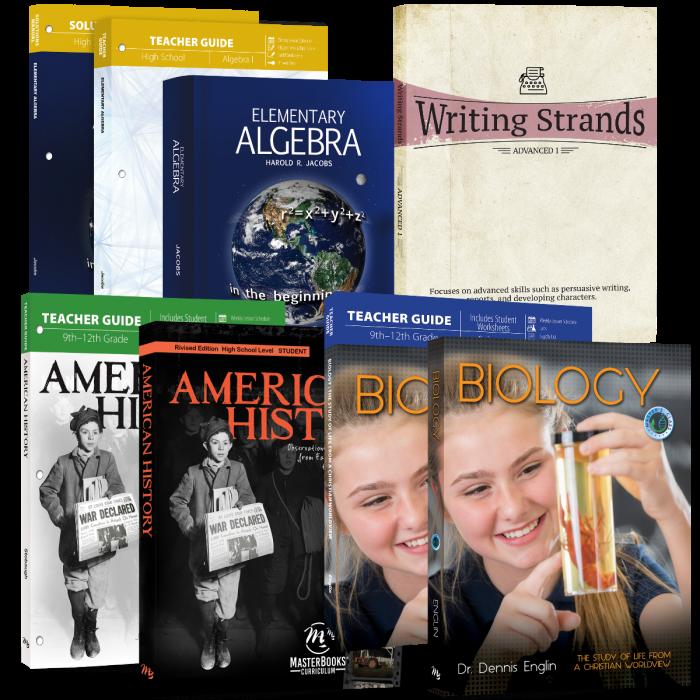 Grade 9 - Basic 4 Subject Set