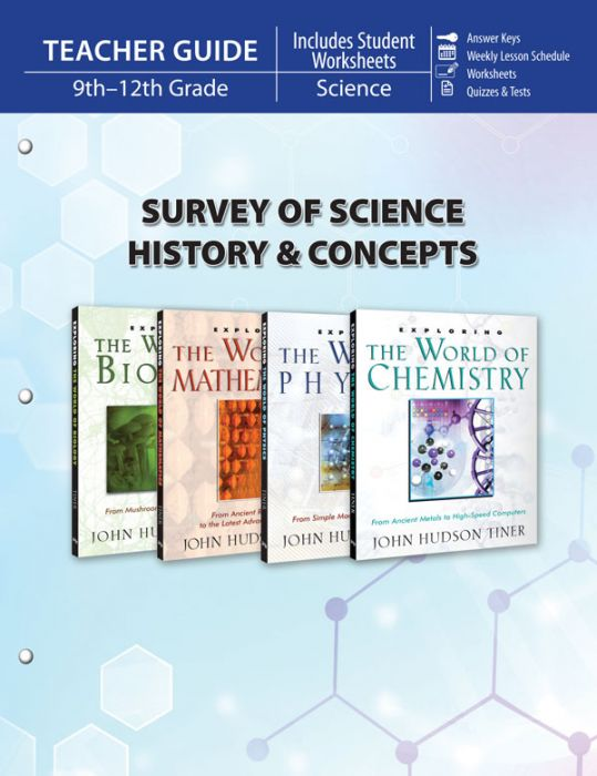 Survey of Science History & Concepts (Teacher Guide - Download)