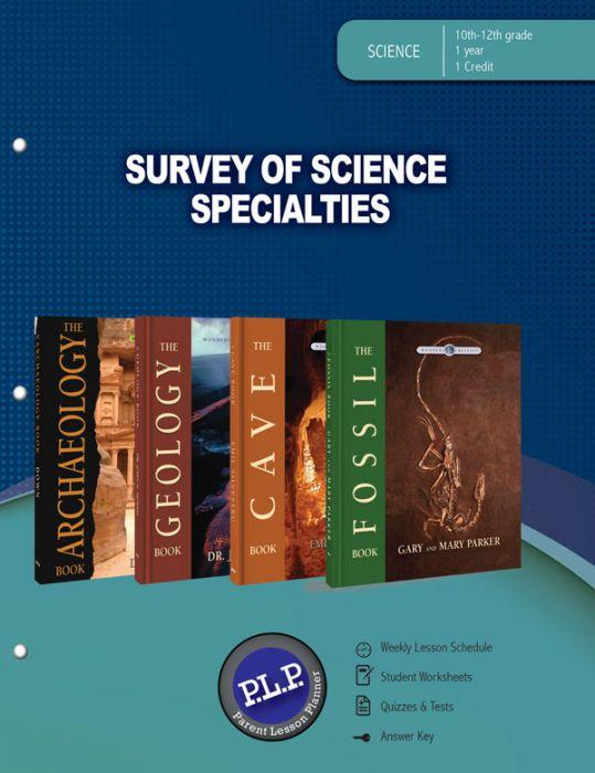 PLP: Survey of Science Specialties (Download)