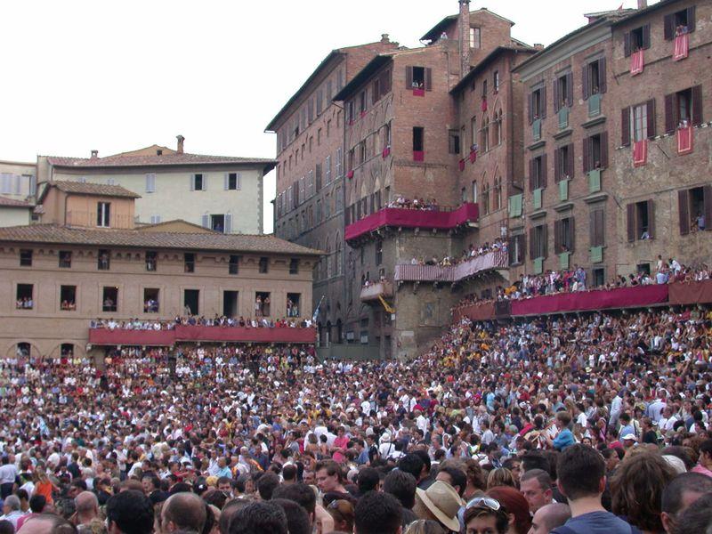 Siena Piazza Del Camp
