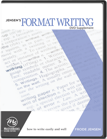 Format Writing DVD